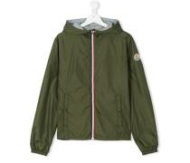 Teen hooded jacket - kids - Baumwolle/Polyamid