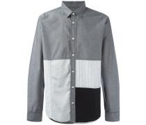 'Miller' Patchwork-Hemd