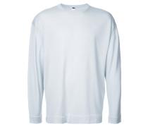 Pullover mit gerippten Borten