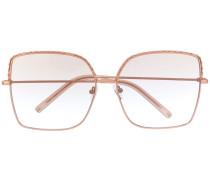 Geometrisch verzierte Sonnenbrille