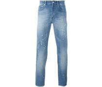 Distressed-Jeans mit schmalem Bein - men