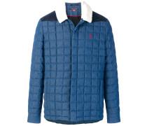 Ski quilted denim jacket