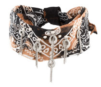 Halsband mit Bandana-Print