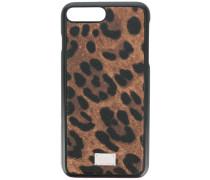 leopard print iPhone 7 Plus case - men