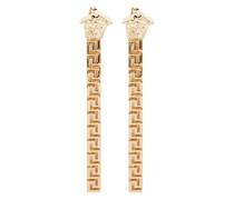 Greca drop earrings