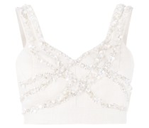 embroidered pearl top