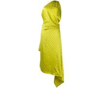 Drapierte One-Shoulder-Robe