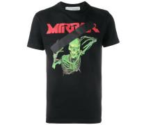 'Skull Mirror' T-Shirt - men - Baumwolle - XS