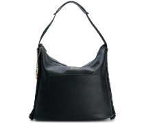grained tote