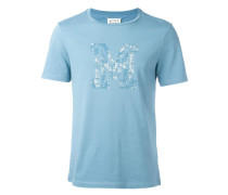 """T-Shirt mit """"M""""-Print - men - Baumwolle - 52"""