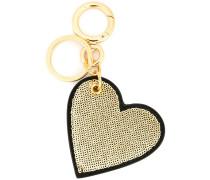 Schlüsselanhänger mit Pailletten-Herz