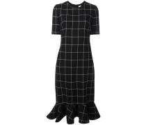 Kleid mit Gittermuster