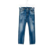 Distressed-Jeans mit Stone-Wash-Effekt
