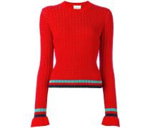 Pullover mit Kontraststreifen - women