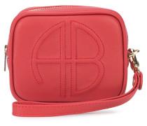 logo zipped pouch