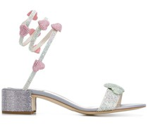 Sandalen mit Kristallen, 40mm