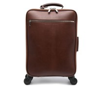 embossed logo suitcase