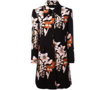 - Mantel mit Blumen-Print - women