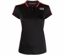 logo-print short-sleeve polo shirt