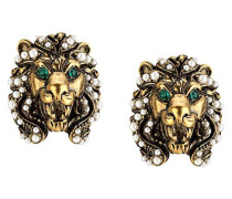 Ohrringe mit Löwenkopf