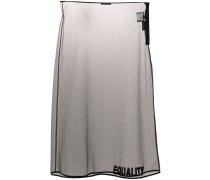 Equality embroidered sheer skirt