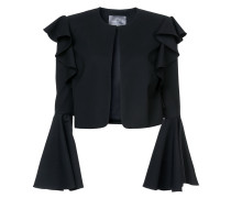 cropped bell sleeved jacket