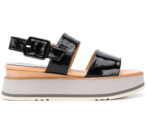 Sandalen mit Wedge-Absatz