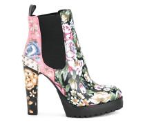 Chelsea-Boots mit Blockabsatz - women