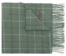 Schal mit Windowpane-Karo