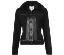 Toby Jacket with Shearling Collar