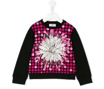 floral Medusa print sweatshirt