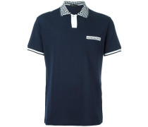 Greca Key collar polo shirt