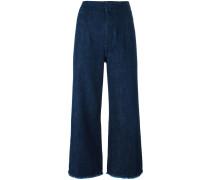 Cropped-Jeans mit lockerer Passform - women