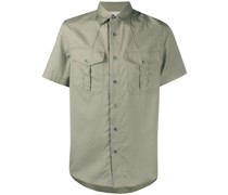 Safarihemd mit kurzen Ärmeln