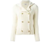 knitted caban jacket