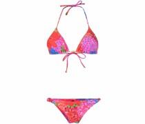 Bikini mit Blumen-Print