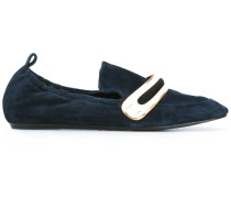 Loafer mit Metallverzierung