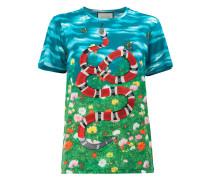 """T-Shirt mit """"Himmel und Garten""""-Print - women"""