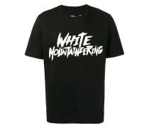 'Raw' T-Shirt mit Logo-Print