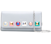 studded chain wallet
