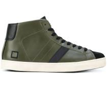 D.A.T.E. High-Top-Sneakers mit Schnürung