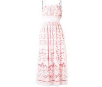 Kleid mit gesmokter Taille