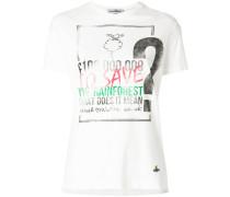 rainforest print T-shirt