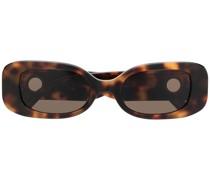 'Lola' Sonnenbrille in Schildpattoptik