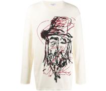 'Yohji' Intarsien-Pullover