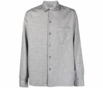 button-down jersey shirt