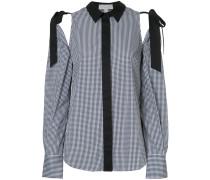 Sebastiano tie detail shirt