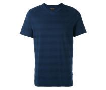 - T-Shirt mit texturierten Streifen - men