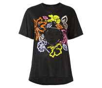 T-Shirt mit Medusa-Detail