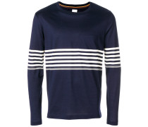stripe detail T-shirt